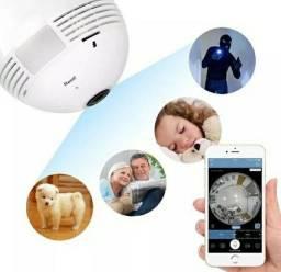 Baba Eletrônica Lampada Wifi Ip Bebe Crianca Idoso Monitoramento