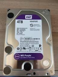 Hd Wd Sata 3,5` Purple Surveillance 4TB