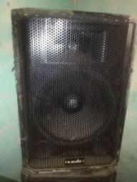 Troco em máquina de lavar uma Caixa passiva falante de 15 polegadas com corneta  RS audio