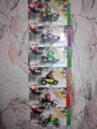 Vendo kit Mario kart original  120,00 os 6 pra levar hoje preço de desapego