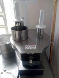 Multiprocessador Processador De Alimentos Industrial Inox 1/2Cv Ralar Cortar Desfiar