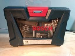 Kit Brocas e Bits 41 Peças + Maleta - Bosch [Produto Novo/Embalagem Lacrada]