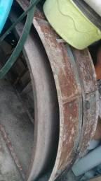 Forma anel concreto de 2m