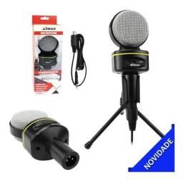 Microfone Condensador Circular Xtrad Ch0804 New!