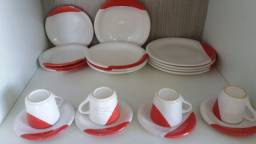 Aparelho de jantar 2o peças porcelana