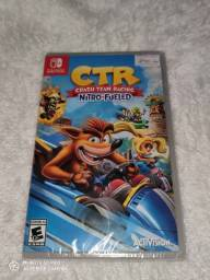 Jogo Nintendo Switch crash team racing