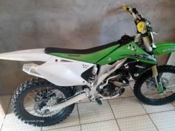 Vendo kx250f ou troco por crf230