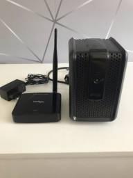 Roteador Intelbras + Estabilizador