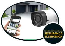 Camera de segurança alarme interfone portão eletronico vendas instalações e manutenção