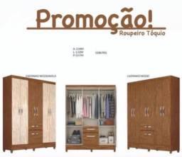 Guarda roupa 6 portas promoção