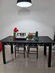 Mesa para 6 lugares em Madeira