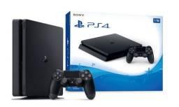 Console Ps4 Sony Playstation 4 1TB Novo Lacrado Garantia Ps4 Slim 1Tb - Loja Natan Abreu