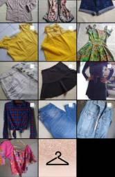 Lote de roupas usadas