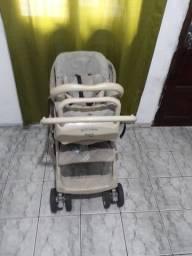 vendo carrinho e bebê conforto,marca Burigotto