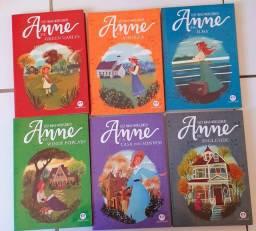 Livros da serie Anne