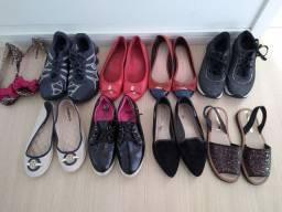 Lote calçados 35