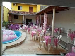 Alugo área para eventos 450 reais
