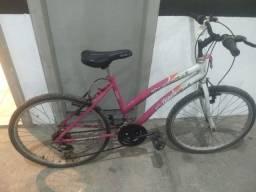 Bicicleta track parati aro 24 rosa