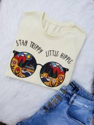 T-shirt Blusas $13,50 atacado