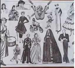 Livro de ilustrações alemão