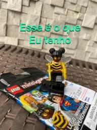 Lego personagem abelha DC colecionável para troca