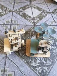2 Máquinas overloque semi industrial