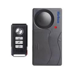 Alarme Multiuso Com Sensor de Vibração e Controle Remoto 115db