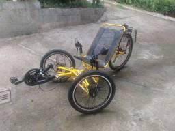 Bike trike triciclo reclinado