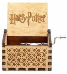 Caixinha de música Harry Potter manivela x 12x R$ 9,99 x Entrega Grátis x Garantia 3 m