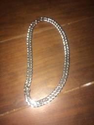 Corrente de pescoço/prata
