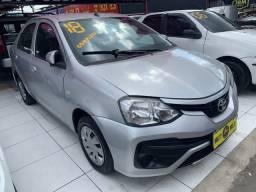 Vendo Toyota Etios 2018+GNV (único dono+ entrada 3.000 48x934,00)