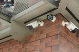 Câmera e Alarmes de Segurança Monitoramento via Celular