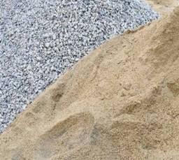 Areia e pedrisco