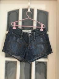 Short jeans feminino de diferentes modelos