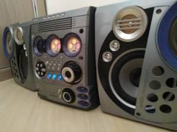 Som Philips Mini Audio System FW-C777 - R$ 500,00