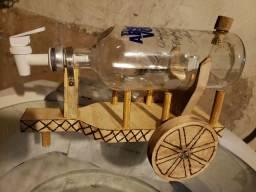 Pingometro Artesanal de Carro de Boi