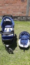 Carrinho de bebê (prime baby) 3 rodas