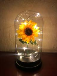 @ mandelladecorados Cupula Luminária Girassol da Felicidade com Led Últimas Unidades