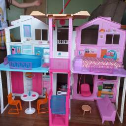 Casa de campo da Barbie
