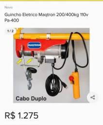 Guincho Eletrico Maqtron 110v Pa-400a