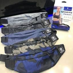 Pochete Sports Pocket Com Porta Garrafa H'maston 1045 1043 1045