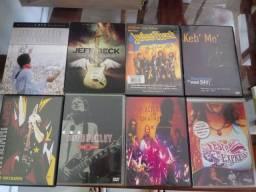 Dvds Rock metal pop e variados