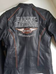 Jaqueta de Couro Harley Davidson Feminina tamanho P