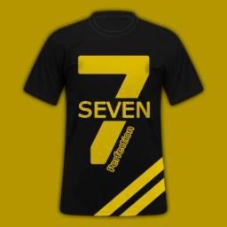 Camisa estampa Seven