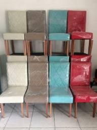 Conjunto com 4 Cadeiras Direto da Fabrica (Novo/Loja)