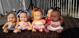 7 bonequinhas cotiplas cheirinho - R$120