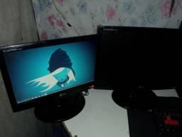 Vendo ou troco 2 monitor LG 14 e 19