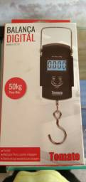 Balança digital multiuso portátil 1g até 50kgs Novo lacrado