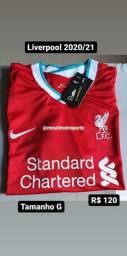Camisa do Liverpool 2020/21