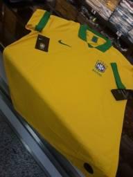 Camisa Nike Brasil modelo jogador original
